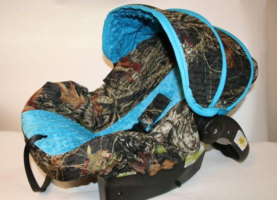 Baby Car Seat Cover Blue Camo Boy Room 3 Nursery Stuff