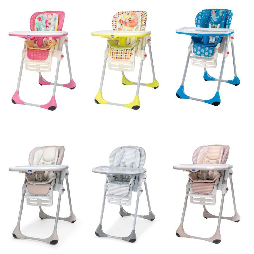 Chicco Polly 2 In 1 Baby Child Height Adjustable High Chair 6